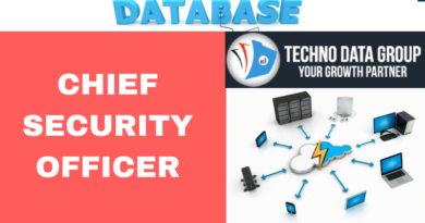 Chief Security Officer email list