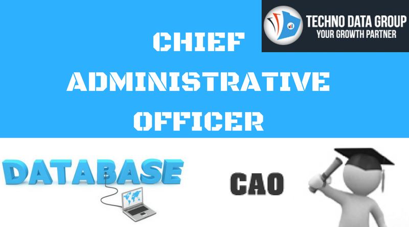chief administrative officer