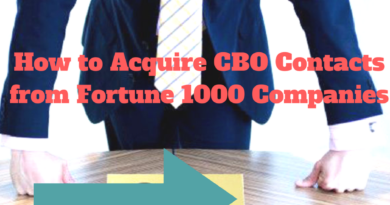 How to Acquire CBO Contacts from Fortune 1000 Companies