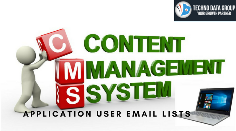 Content Management Systems Application Users Email Lists
