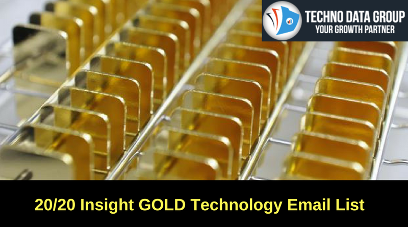 20/20 Insight GOLD Technology Email List