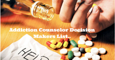 Addiction Counselor Decision Makers