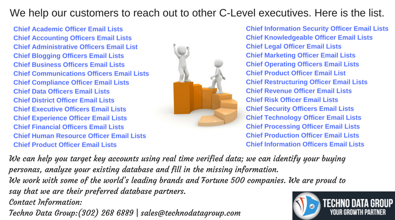 C - Level Executives Email List