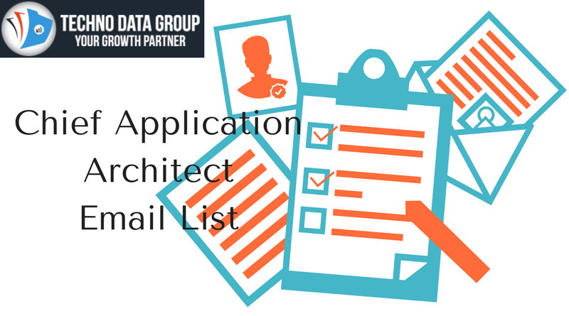 Chief application architect email list