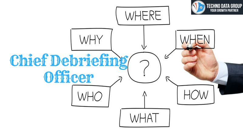 Chief Debriefing Officer Email list