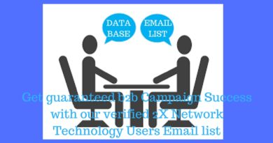 2X Network Technology Users Email List