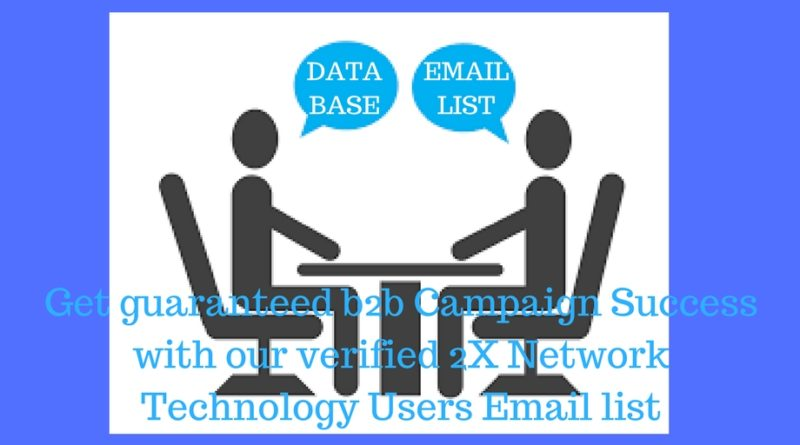2X Network Users Vice Presidents Email & Mailing List