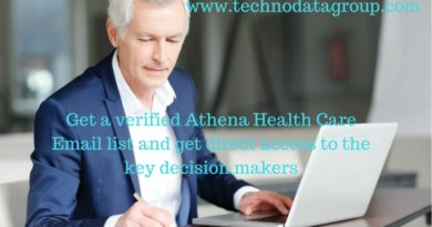 Athena Health Decision Makers List