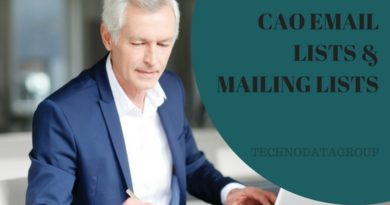 CAO EMAIL LISTS & MAILING LISTS