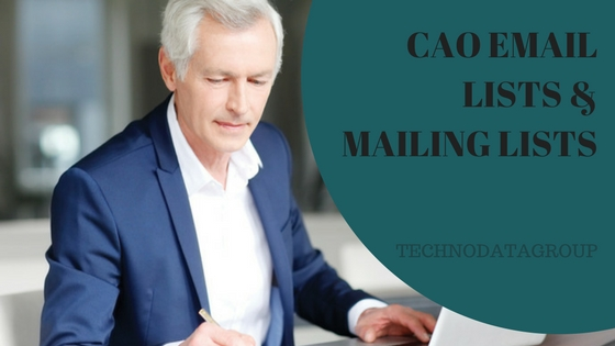 CAO EMAIL LISTS & MAILING LISTS