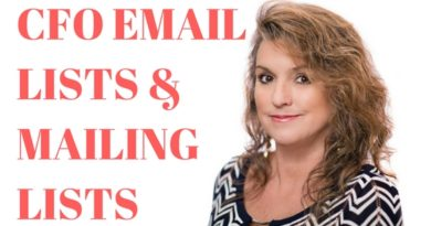 CFO EMAIL LISTS & MAILING LISTS