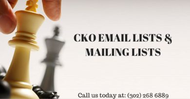 CKO EMAIL LISTS
