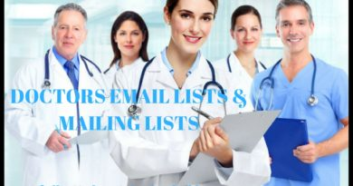 DOCTORS EMAIL LISTS & MAILING LISTS