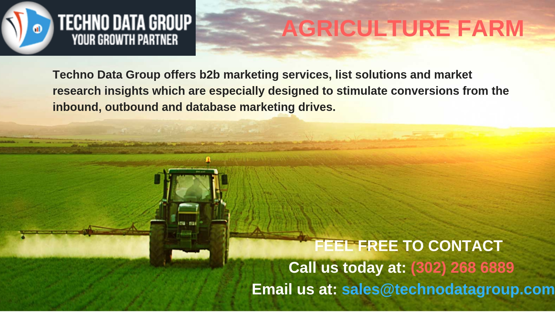Agriculture Farm Business Email List | Agriculture Farm Business Mailing