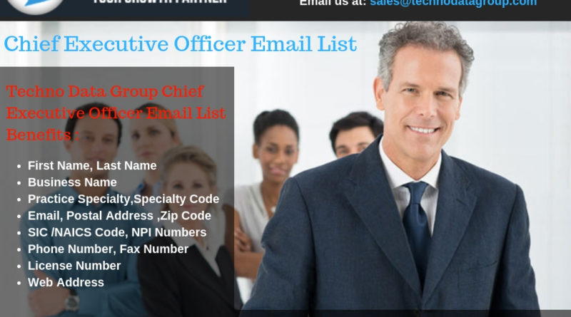 ceo email list,CEO mailing address database, CEO mailing lists, CEO marketing lists